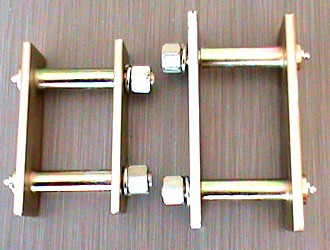Shackle pin & assembly